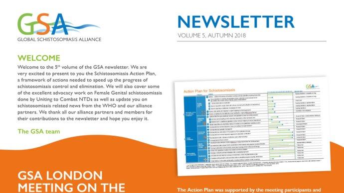 Image of start of 5th Newsletter