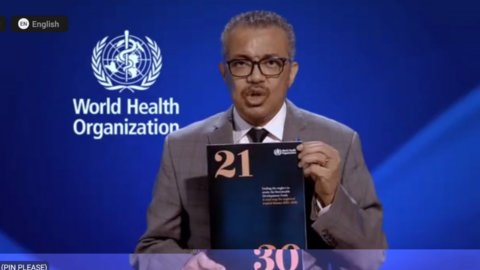 Dr Tedros Adhanom Ghebreyesus, Director-General of the World Health Organization launches the new WHO NTD roadmap 2021-2030